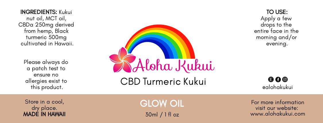 Aloha Kukui Glow Oil